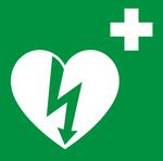 Logo umístění AED