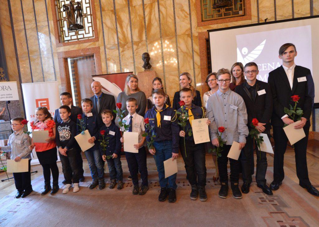 nominované děti na Cenu M. Velíška